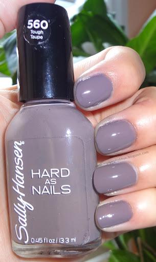 Sally Hansen Hard As Nails Swatches