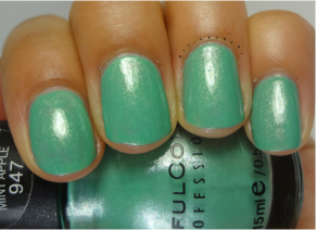 Mint Apple- 2 Coats