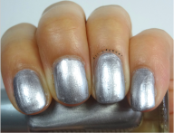 Metallica- 3 Coats (Was kind of uneven and streaky) (which is also common in metallics...)