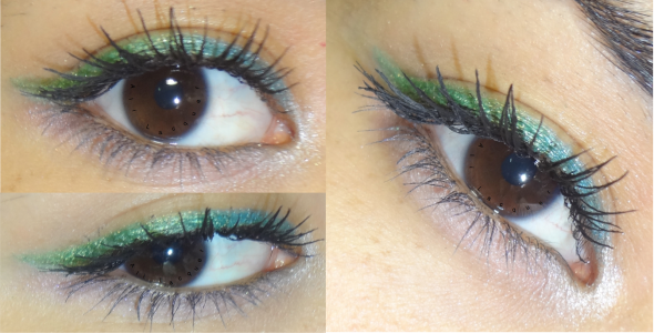 Eye look of day