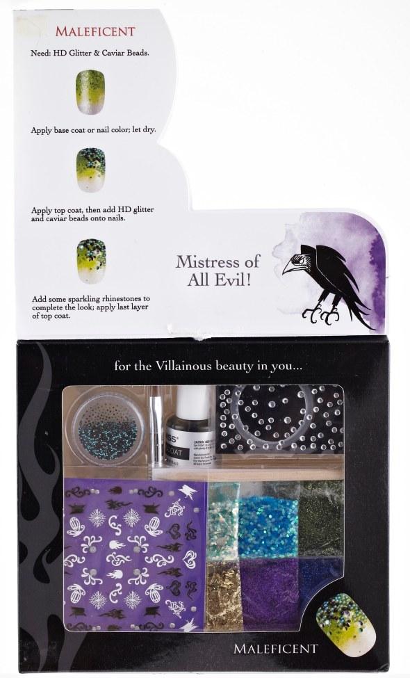 Maleficent Nails-Jun #BC041 (1)