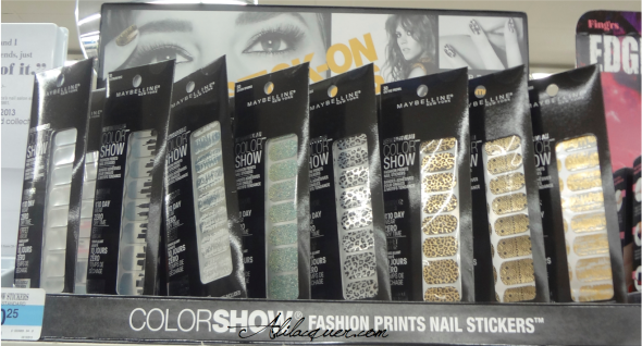 Revlon colorshow nail stickers