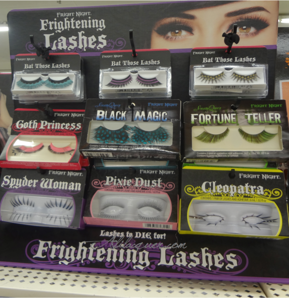 Fright Night Frightening Lashes Halloween 2013