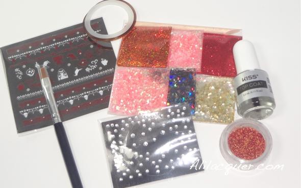 Villians Nail Art kit in Evil Queen