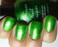 klean color in metallic green
