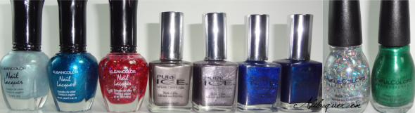 polishes haul 1