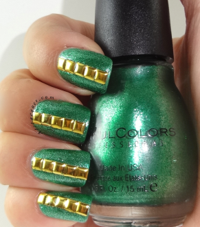 Sinful colors NOTD- Pine Away